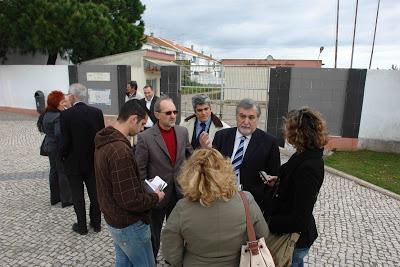 Realizou-se uma visita de deputados do Partido Socialista, eleitos pelo distrito de Setúbal, ao concelho da Moita.