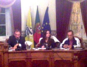 Primeira Reunião Publica de Câmara do novo mandato.