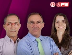 Vereadores do Partido Socialista na Câmara Municipal da Moita