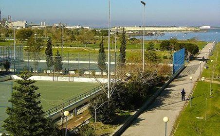 Parque José Afonso, Baixa da Banheira