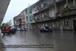 Rua 25 de Abril na Baixa da Banheira, Moita