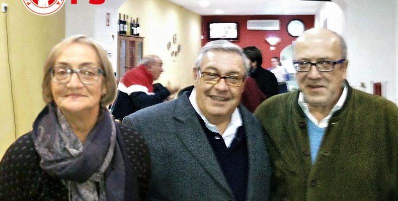 Luis, Filomena e Aniceto